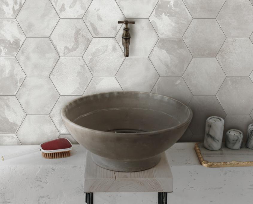 Terratinta - Betonmetal Aluminium Hexa glossy