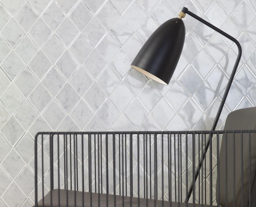 L'antic - Victorian Rhombus Carrara Aluminium