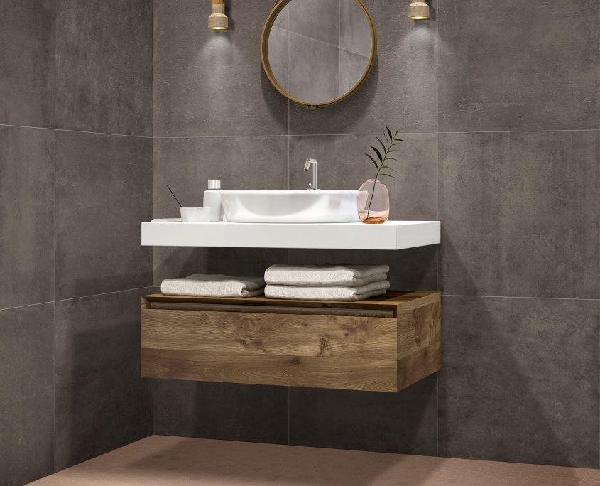 Terratinta - Hexa - Minimalist bathroom