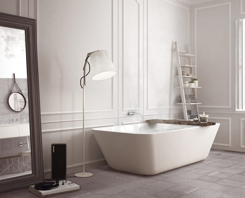 Terratinta - white minimalistic design, hotel spa