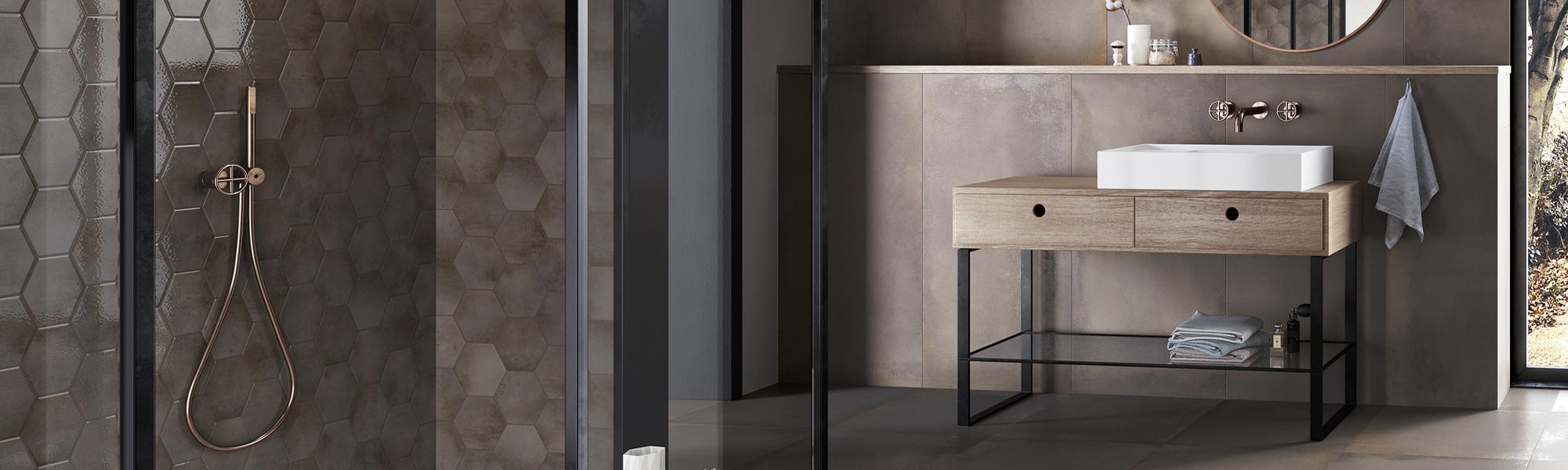 Kogros - Betonmetal Aluminium Hexa glossy